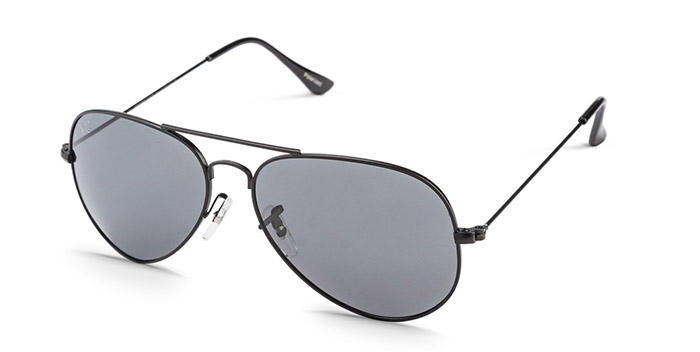 Black Grey Aviator