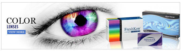 Colour Disposable Contact Lenses