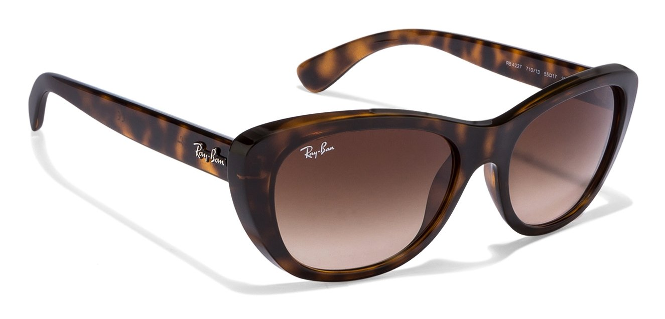 Ray-Ban RB4227 710/13 Size-55 Tortoise Brown Gradient ...