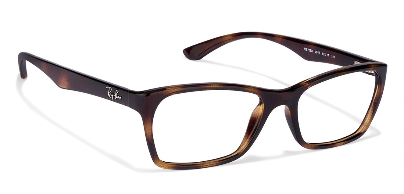 Dimensions Of Eyeglass Frames : Buy Ray-Ban RX7033 Size:52 Tortoise 2012 Womens ...