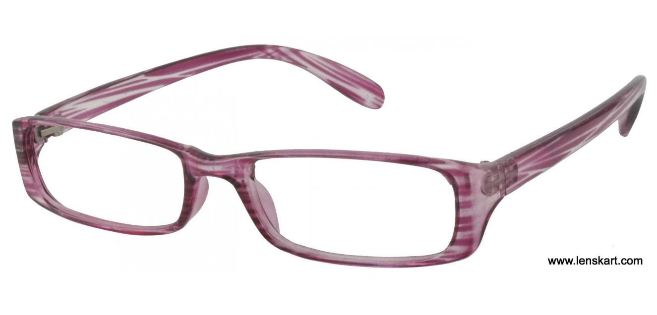 047ede6d996 Shop online for Lenskart Optima A904 Aqua Purple Eyeglasses