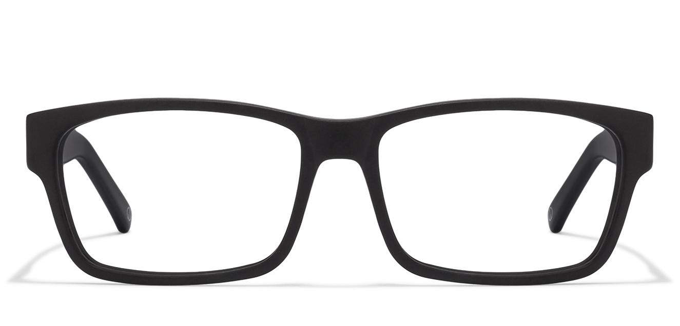 b21355db1 Matte Black Blue Full Rim Rectangle Large (Size-54) John Jacobs Rich  Acetate JJ 4406-C3 Eyeglasses