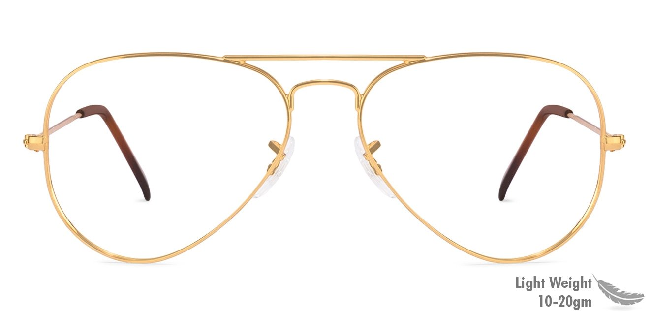 39876083f3 Shop online for Ray-Ban RX6049I 2500 Size 55 Arista Gold Aviator ...