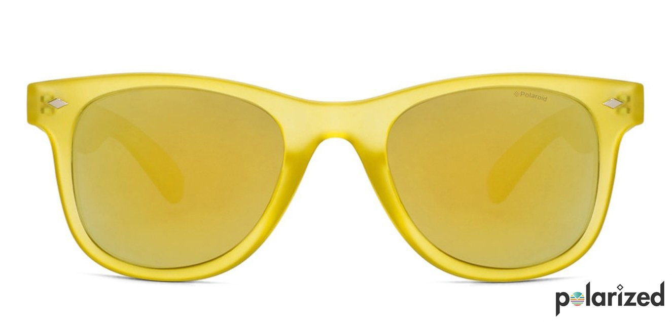 cad46cd7edd7 Shop online for Polaroid PLD6009 NS Small (Size-48) Matte Yellow Yellow  Mirror Unisex Polarized Sunglasses