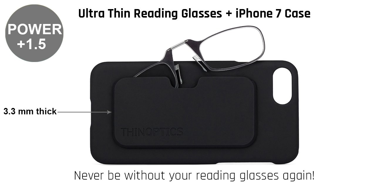 Buy Thinoptics Reading Glasses With Iphone 7 Cover Only For 15 Power