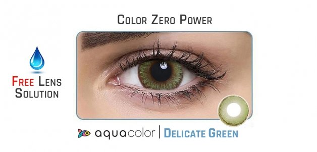 Aqualens  (Delicate Green) Monthly 10 Hours (1 Lens)