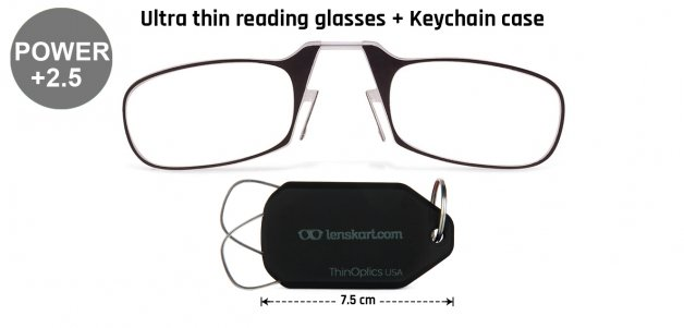 ThinOptics Reading Glasses With Keychain
