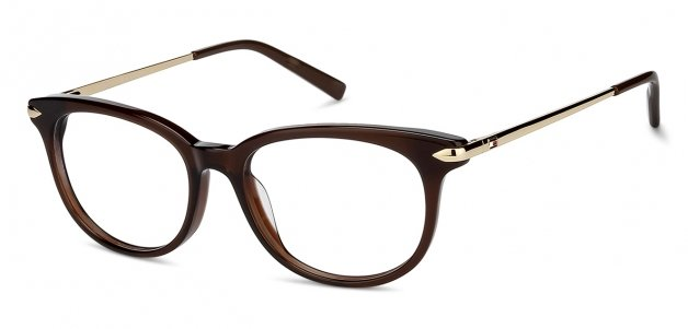 fd2963059fbea Tommy Hilfiger TH6150 Medium (Size-52) Brown Golden C3 Women Eyeglasses