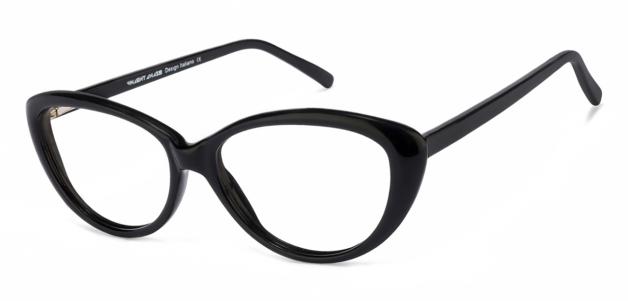 087aab7ad5fd Buy Black Full Rim Cat Eye Medium (Size-52) Vincent Chase VAGABOND VC  2007-C1 Eyeglasses