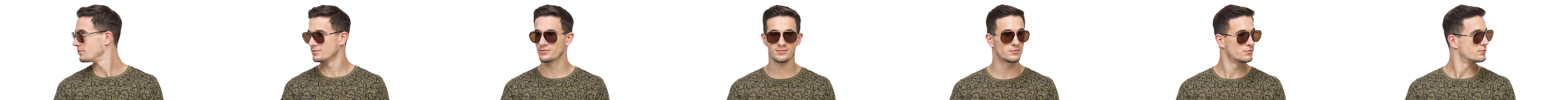 69421ed3a3 Shop online for Tortoise Golden Brown Full Rim Aviator Shape Large ...